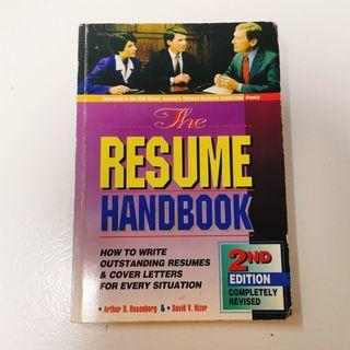 🚚 The Resume Handbook