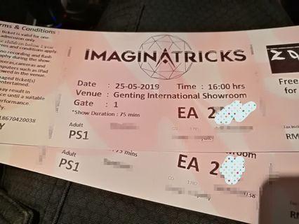 Imaginatricks Genting (25/05/19 - 4pm)