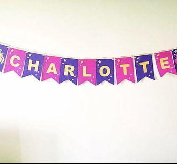 My little pony handmade wall banner