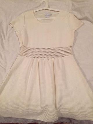 🚚 White Babydoll Dress