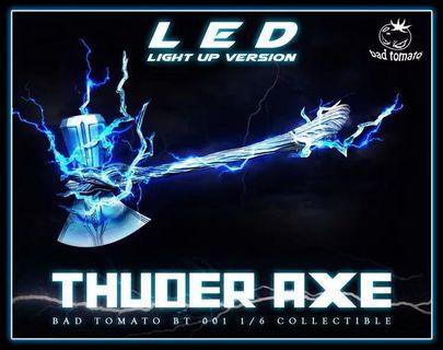 1/6 Bad Tomato- Thuder Axe (Hottoys Thor合用)