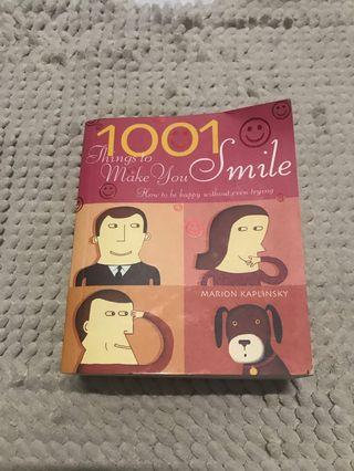 1001 things to make you smile book