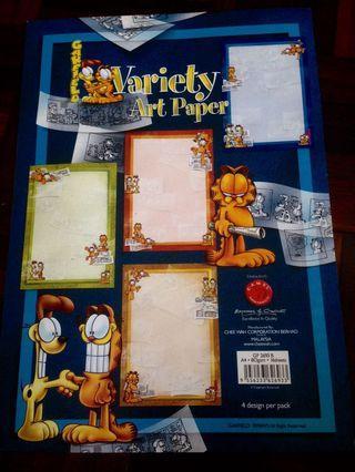 Garfield Variety Art Paper