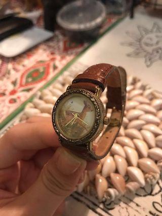 Vintage deer watch