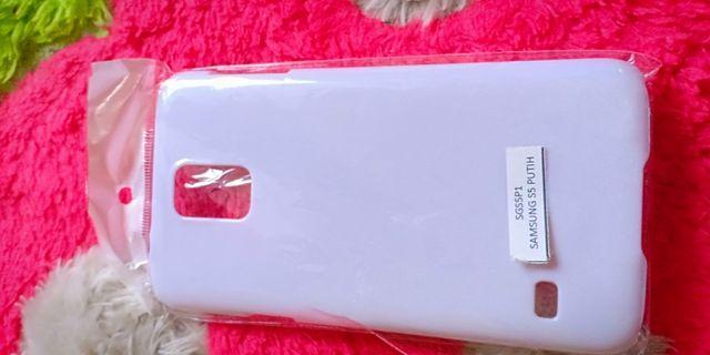 hardcase Samsung s5 putih