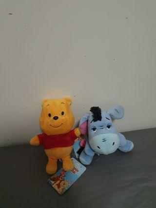 Winnie The Pooh small soft toy