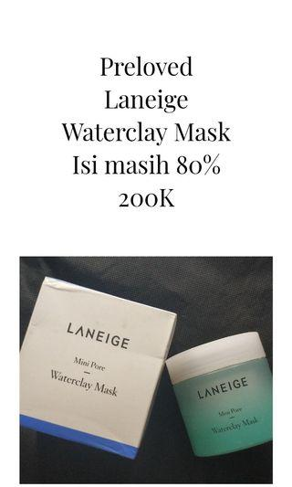 Laneige Waterclay Mask