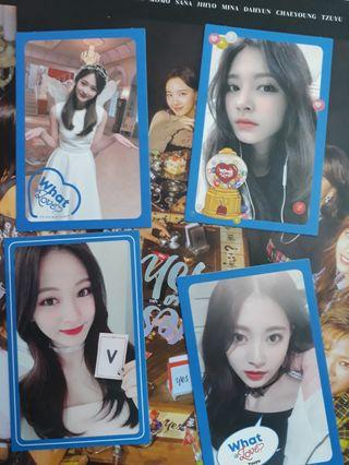Twice Tzuyu Photocards Collection