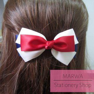 Multicolor Ribbons Charming Hair Pin (HC004)