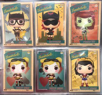 Funko DC Bombshells Trading Cards