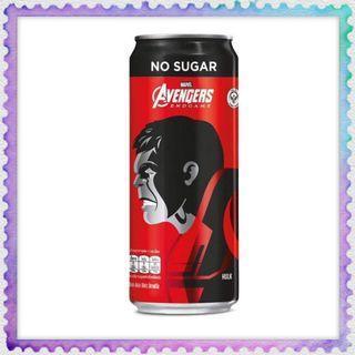Canned Coca-cola Avengers Hulk version soft drink Coke 325ml