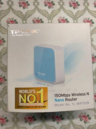 TP-link 150Mbb wireless nano router