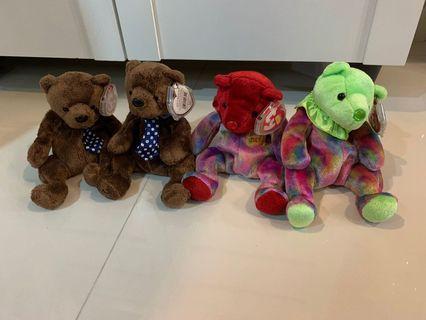 TY Bears (year 2000)