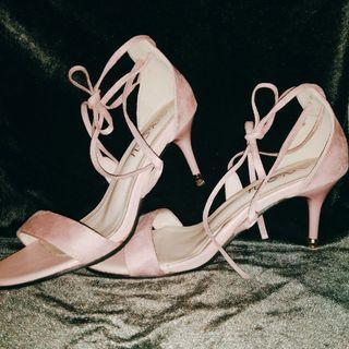 Strap Heels ( Pink Pastel ) 🌸