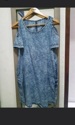 Mididress Denim