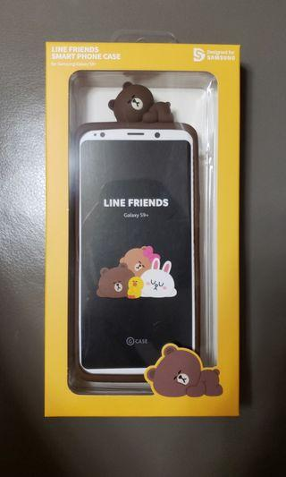 LINE FRIENDS 3D Silicone Cover Case for Galaxy S9 Plus