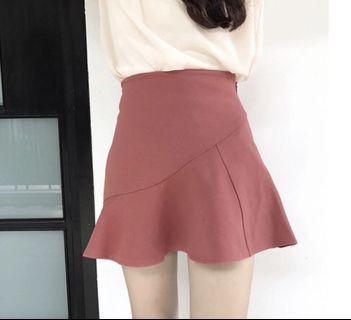 Maroon Mermaid Skirt