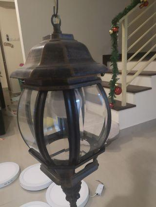 Antique outdoor light