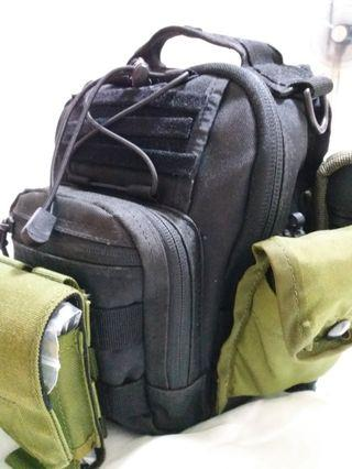 Pentagon chest bag