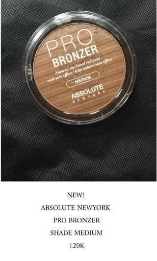 Absolute New york Pro Bronzer Shade Medium