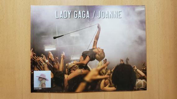 Lady Gaga (Joanne) CD Poster