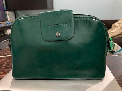 Gwyneth mini-mini messenger (jade green color)