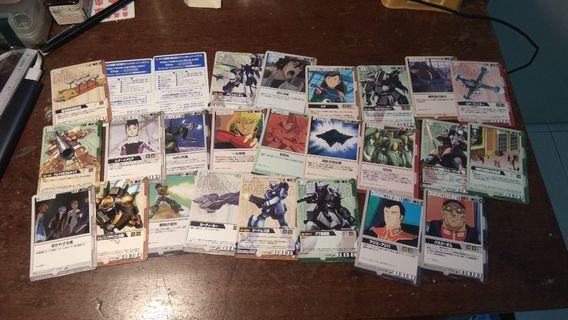 Bandai Gundam card games zaku rx78 banpresto IKEAnikeadidas