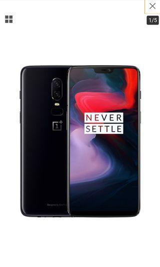 OnePlus 6 - 6/64 GB Mirror black