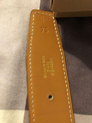 🚚 Original Hermes Tan/Black Reversible Belt
