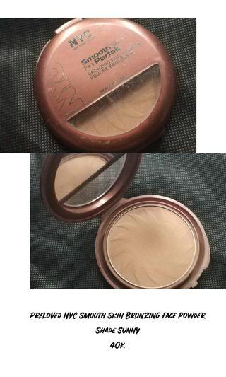NYC Smooth Skin Bronzing Face Powder, Shade Sunny