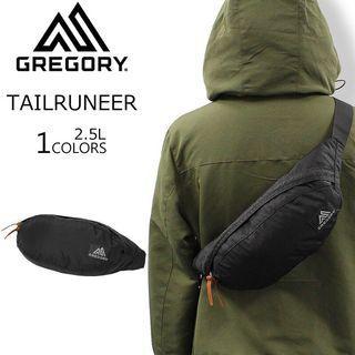 【💥單肩】2.5L GREGORY TAILRUNNER 黑色 Black