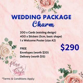 Wedding Package Charm