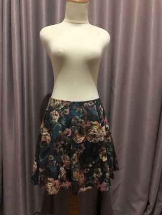Flower Skirt ZARA