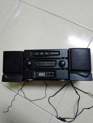 Mini radio casette tape