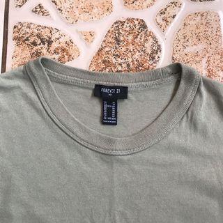 Forever Men 21 Olive Shirt