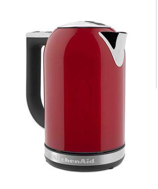 KitchenAid 1.7L 熱水壺 家用温控电水壶 帝王红 智能恒温婴儿冲奶泡奶 6档温控保温