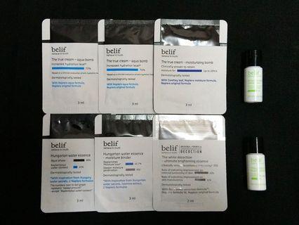 Belif samples