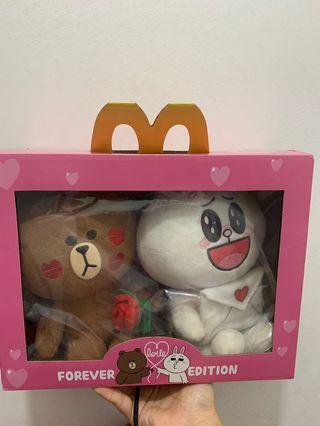 Line bear set McDonald's