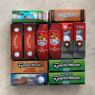 New Assorted Golf Balls