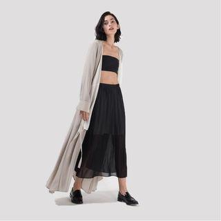 🚚 BNWT Ginlee Palm Skirt in Black