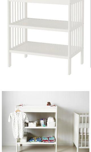 IKEA Gulliver Changing table, white