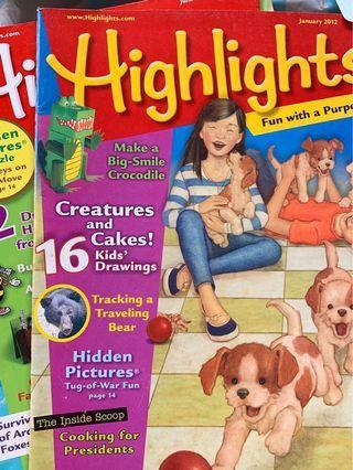 🚚 Highlights Magazine