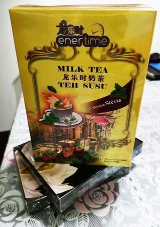 🚚 Enertime milk tea
