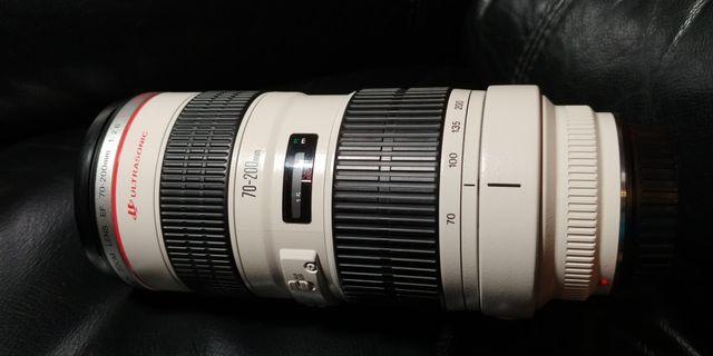 Canon 70-200mm 2.8L