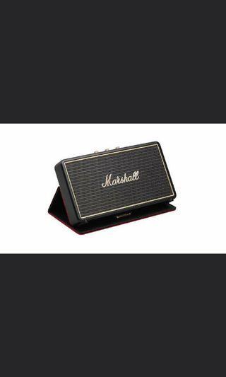[50% OFF] Marshall Stockwell Bluetooth Speaker + Case 2019