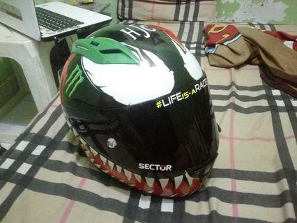 Helm KYT RC7 Decal Rpha venom