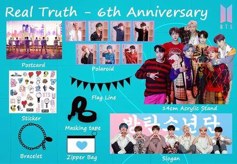 BTS 6th Anniversary Project