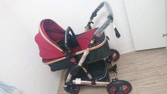 belecoo貝麗可 高景觀雙向嬰兒推車