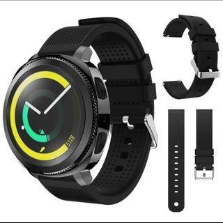 Samsung gear sport 20mm watch starp Black