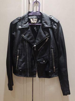 eb796880784 Zara Black Leather Jacket